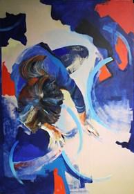 Obraz do salonu artysty Karolina Bracławiec pod tytułem Spotkanie