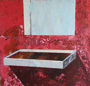Obraz do salonu artysty Izabela Rudzka pod tytułem Lustro 2