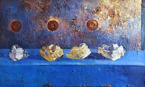 Obraz do salonu artysty Izabela Rudzka pod tytułem Taxicosmos