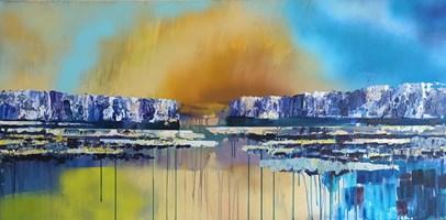 Obraz do salonu artysty Izabela Rudzka pod tytułem Most z przeszłości do przyszłości