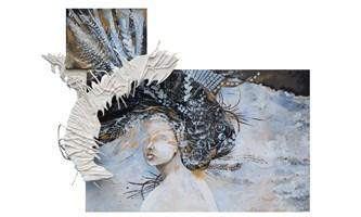 Obraz do salonu artysty Żaneta Chłostowska - Szwaczka pod tytułem Przestrzeń 030