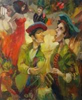 Obraz do salonu artysty Tomasz Bachanek pod tytułem Atrakcyjne toasty zawsze pożądane I