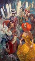 Obraz do salonu artysty Tomasz Bachanek pod tytułem Za siódmą bramą