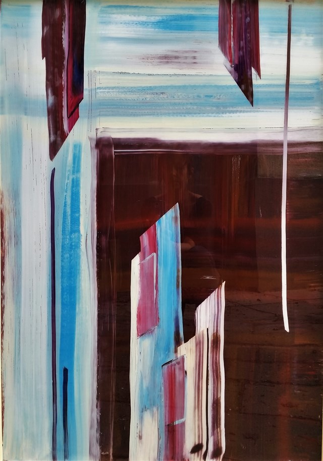 Obraz do salonu artysty Magdalena Kobierecka pod tytułem Kompozycja nr 143