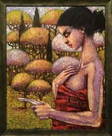Obraz do salonu artysty Maciej Urbaniak pod tytułem Bez tytułu