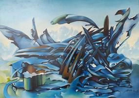 Obraz do salonu artysty Łukasz Jaruga pod tytułem Koń polny
