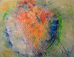 Obraz do salonu artysty Kazimiera Myk-Magdziak pod tytułem Oratorium