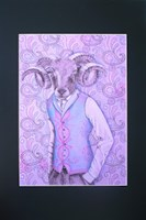 Obraz do salonu artysty Marta Horodniczy pod tytułem Aries