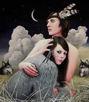 Obraz do salonu artysty Maciej Rauch pod tytułem She Drives My Wild