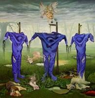 Obraz do salonu artysty Maciej Rauch pod tytułem Alienation