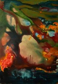 Obraz do salonu artysty Oryszyn pod tytułem PRIVATE SPACES I