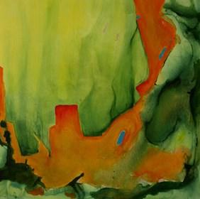 Obraz do salonu artysty Oryszyn pod tytułem Private Spaces IX