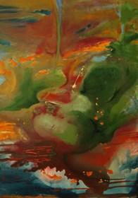 Obraz do salonu artysty Oryszyn pod tytułem PRIVATE SPACES II