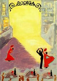 Obraz do salonu artysty Aleksandra Hanaj-Podgórska pod tytułem Andaluzja III