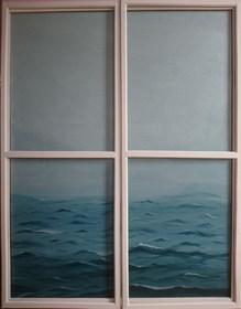 Obraz do salonu artysty Anastasiia Khoma pod tytułem Bez tytułu