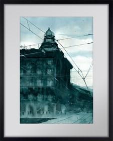 Obraz do salonu artysty Mariusz Kula pod tytułem Kraków 5