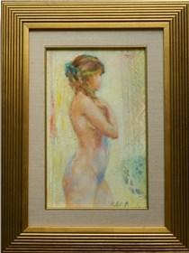 Obraz do salonu artysty Maria Adamus-Biskupska pod tytułem Rudowłosna - Akt