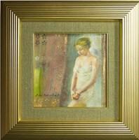 Obraz do salonu artysty Maria  Adamus-Biskupska pod tytułem Jabłko