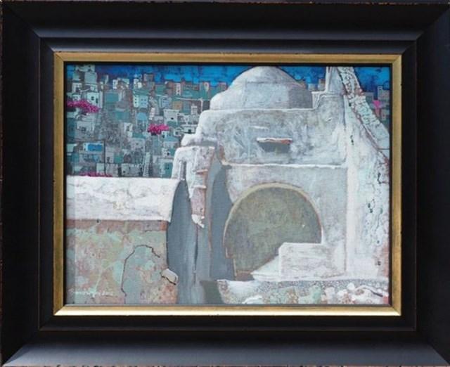 Obraz do salonu artysty Andrzej Borowski pod tytułem MYKONOS II