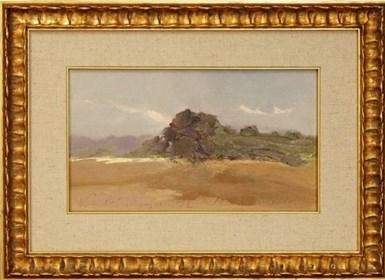 Obraz do salonu artysty Marian Danielewicz pod tytułem Notatki Z Pejzażu