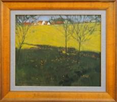 Obraz do salonu artysty Andrzej  Kacperek pod tytułem Żółte Pole