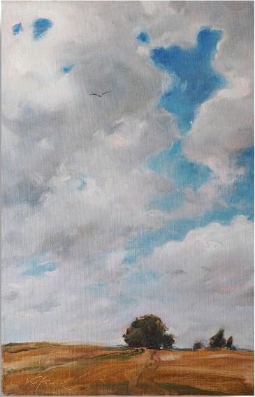 Obraz do salonu artysty Paweł Kotowicz pod tytułem Pejzaż