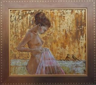 Obraz do salonu artysty Monika Krzakiewicz pod tytułem Akt