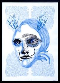 Grafika do salonu artysty Dagmara Rosiak pod tytułem Scurie