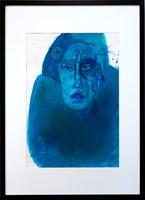 Grafika do salonu artysty Dagmara Rosiak pod tytułem swallow it