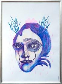 Grafika do salonu artysty Dagmara Rosiak pod tytułem elfie