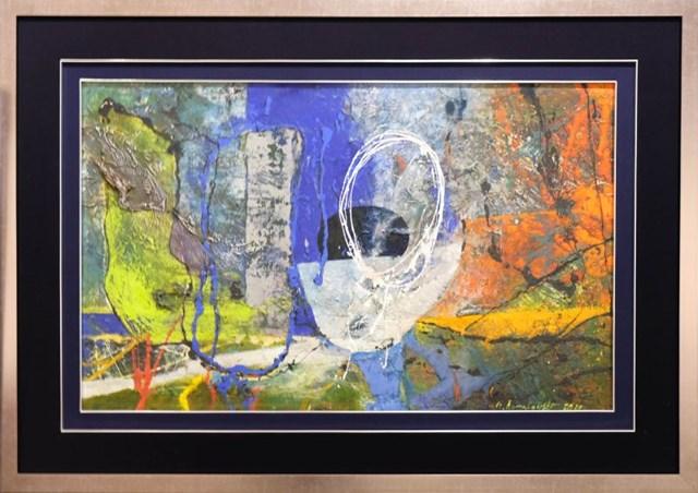 Obraz do salonu artysty Czesław Romanowski pod tytułem Wariant Blue