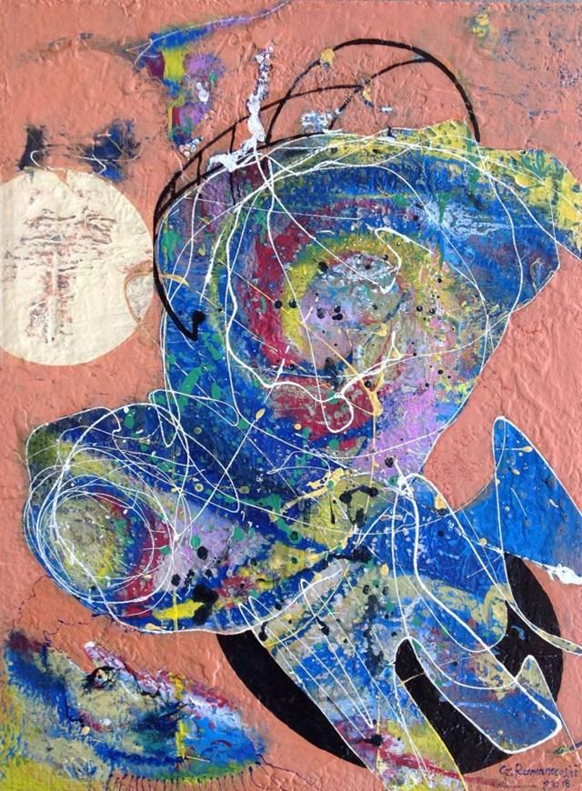 Obraz do salonu artysty Czesław Romanowski pod tytułem Światowiec