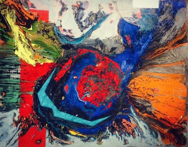 Obraz do salonu artysty Czesław Romanowski pod tytułem Morena