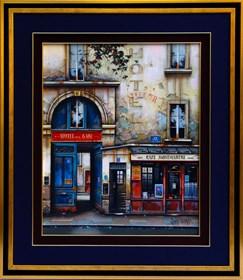 Obraz do salonu artysty Jan Stokfisz Delarue pod tytułem Hotel de La Gare