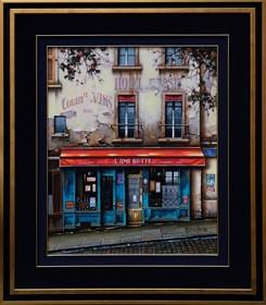 Obraz do salonu artysty Jan Stokfisz Delarue pod tytułem L'Ami Butte