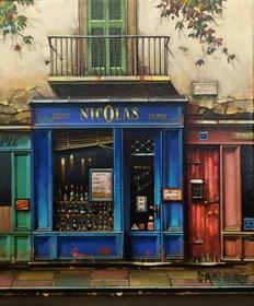 Obraz do salonu artysty Jan Stokfisz Delarue pod tytułem Depot Nicolas