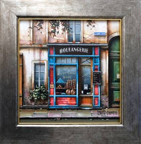Obraz do salonu artysty Jan Stokfisz Delarue pod tytułem Boulangerie