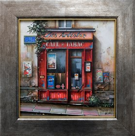 Obraz do salonu artysty Jan Stokfisz Delarue pod tytułem Les Artists