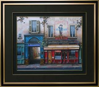 Obraz do salonu artysty Jan Stokfisz Delarue pod tytułem Hotel de la Belle France