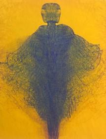 Living room print by Zdzisław Beksiński titled Untitled