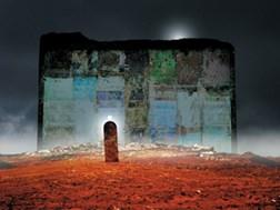 Grafika do salonu artysty Zdzisław Beksiński pod tytułem Bez tytułu 15
