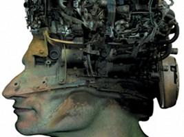 Grafika do salonu artysty Zdzisław Beksiński pod tytułem Bez tytułu 17