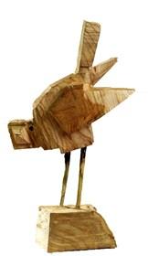 Rzeźba do salonu artysty Zbigniew Bury pod tytułem Ptaszek II