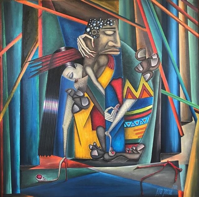 Obraz do salonu artysty Robert Jadczak pod tytułem Wszystkie marzenia Samuela