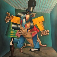 Obraz do salonu artysty Robert Jadczak pod tytułem Tango