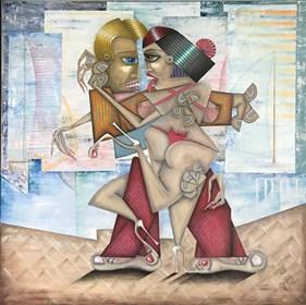 Obraz do salonu artysty Robert Jadczak pod tytułem Szwedzkie wakacje