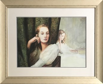 Obraz do salonu artysty Kacper Kalinowski pod tytułem Portret