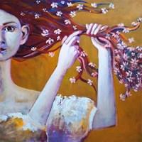 Obraz do salonu artysty Aleksandra Adamczak pod tytułem Wiosna