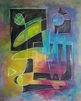 Obraz do salonu artysty Ewa Najdenow pod tytułem Laboratorium Pana Kleksa