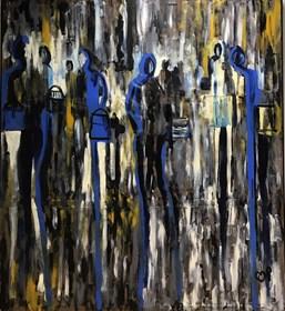 Obraz do salonu artysty Jacek Pokrak pod tytułem Milano